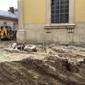Біля собору Святого Юра археологи, ймовірно, знайшли фундаменти церкви XIV—XV ст